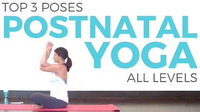 3 Postnatal Yoga Poses for Postpartum by Sarah Beth Yoga