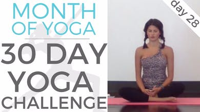 Day 28 - Values // #MonthOfYoga - 30 Day Yoga Challenge by Sarah Beth Yoga
