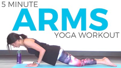 Instant Access to Power Yoga Workout for Arms by Sarah Beth Yoga, powered by Intelivideo