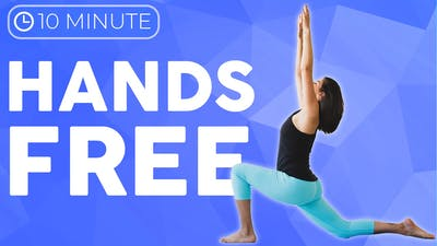 Hands Free Yoga Routine (10 minute Yoga) Standing Yoga Stretches to Feel Good by Sarah Beth Yoga