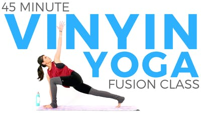 Instant Access to 45 minute VinYin Class by Sarah Beth Yoga, powered by Intelivideo