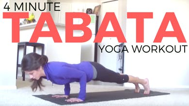 Tabata Yoga Workout - Build Your Upper Body Strength by Sarah Beth Yoga