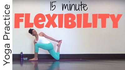 Instant Access to 15 Minute Yoga for Flexibility by Sarah Beth Yoga, powered by Intelivideo