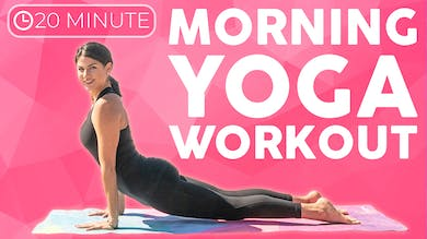 20 minute Morning Yoga | Power Yoga Workout to Start Your Day by Sarah Beth Yoga