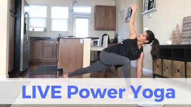 LIVE Power Yoga Challenge (recorded) by Sarah Beth Yoga