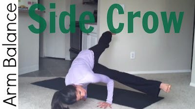 Instant Access to How to Side Crow - Arm Balance by Sarah Beth Yoga, powered by Intelivideo