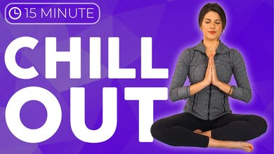 15 minute Slow Yoga Stretches 💙 CHILL OUT with Intention by Sarah Beth Yoga