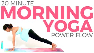 Instant Access to Morning Yoga | Power Yoga for Toned Abs, Arms & Legs (20 minutes) by Sarah Beth Yoga, powered by Intelivideo