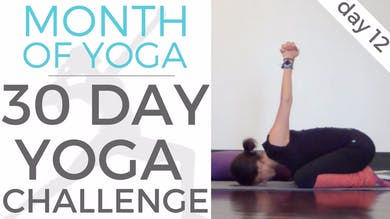 Day 12 - Openness // #MonthOfYoga - 30 Day Yoga Challenge by Sarah Beth Yoga