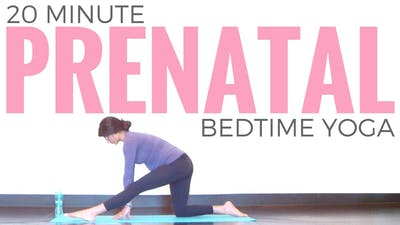Instant Access to Prenatal Bedtime Yoga by Sarah Beth Yoga, powered by Intelivideo