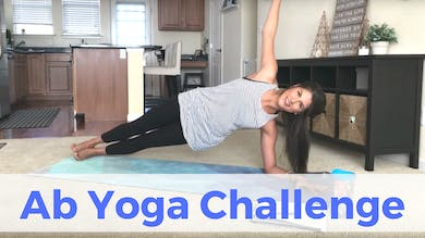 LIVE Ab Yoga Challenge (recorded) by Sarah Beth Yoga