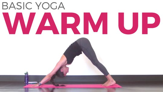 Instant Access to Basic Yoga Warm Up by Sarah Beth Yoga, powered by Intelivideo