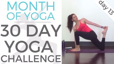 Day 13 - Honor Your Body // #MonthOfYoga - 30 Day Yoga Challenge by Sarah Beth Yoga