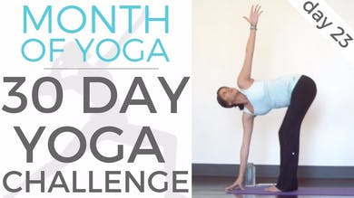 Day 23 - Mindfulness // #MonthOfYoga - 30 Day Yoga Challenge by Sarah Beth Yoga