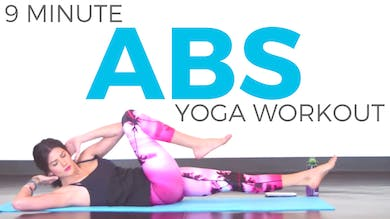 Power Yoga Workout for Abs by Sarah Beth Yoga