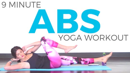 Instant Access to Power Yoga Workout for Abs by Sarah Beth Yoga, powered by Intelivideo