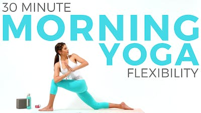 Instant Access to 30 minute Morning Yoga for Flexibility - Full body Yoga Flow by Sarah Beth Yoga, powered by Intelivideo