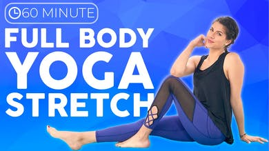 60 minute Full Body Yoga Stretch Class by Sarah Beth Yoga