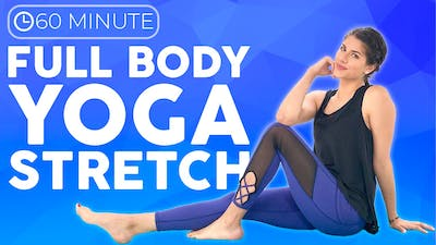 Instant Access to 60 minute Full Body Yoga Stretch Class by Sarah Beth Yoga, powered by Intelivideo