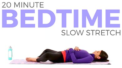 20 minute Bedtime Slow Stretch by Sarah Beth Yoga