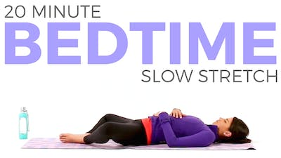 Instant Access to 20 minute Bedtime Slow Stretch by Sarah Beth Yoga, powered by Intelivideo