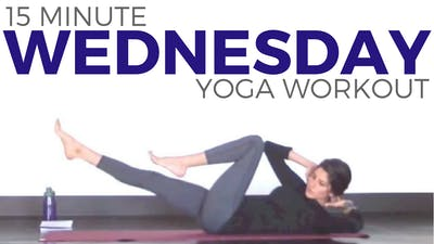 Instant Access to Wednesday - Power Yoga Workout by Sarah Beth Yoga, powered by Intelivideo