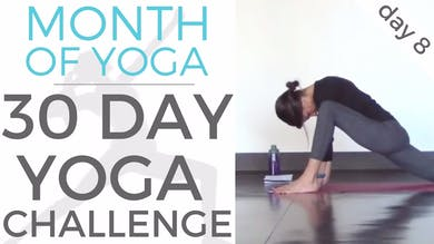 Day 8 - Reflection // #MonthOfYoga - 30 Day Yoga Challenge by Sarah Beth Yoga