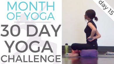 Day 15 - Problem Solving // #MonthOfYoga - 30 Day Yoga Challenge by Sarah Beth Yoga