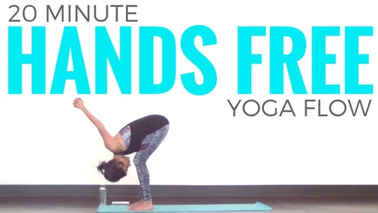 Instant Access to 20 minute Hands Free Yoga Routine by Sarah Beth Yoga, powered by Intelivideo