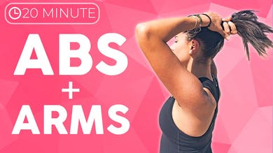 20 minute Power Yoga Flow Abs & Arms by Sarah Beth Yoga