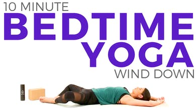 10 minute Relaxing Wind Down Bedtime Routine by Sarah Beth Yoga