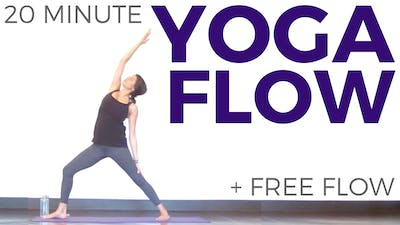 Instant Access to 20 minute Yoga Flow