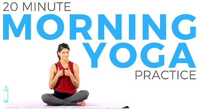 20 minute Morning Yoga Practice | Mindful Morning Yoga by Sarah Beth Yoga