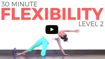 Instant Access to Yoga for Flexibility - Level 2 by Sarah Beth Yoga, powered by Intelivideo