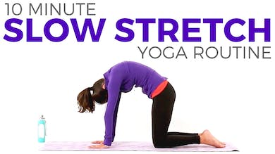 10 minute Simple Slow Stretch by Sarah Beth Yoga