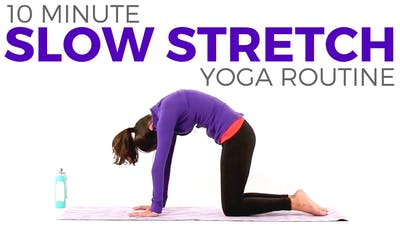Instant Access to 10 minute Simple Slow Stretch by Sarah Beth Yoga, powered by Intelivideo