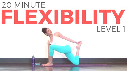 Instant Access to Yoga for Flexibility - Level 1 by Sarah Beth Yoga, powered by Intelivideo