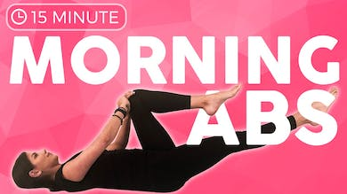 15 minute Morning Yoga Workout for Abs | EVOLVE your Core by Sarah Beth Yoga