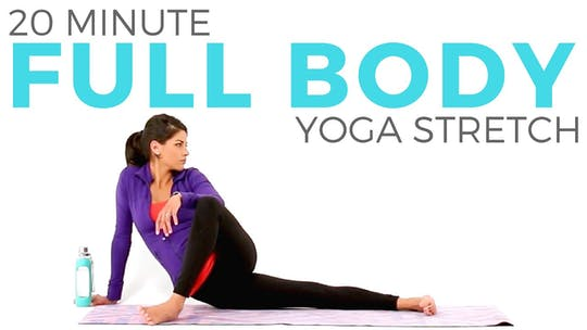 Instant Access to 20 minute Full Body Yoga Stretch by Sarah Beth Yoga, powered by Intelivideo