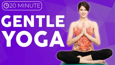 Instant Access to 20 minute Gentle Yoga Stretches | Low Energy Yoga for Sickness & Recovery by Sarah Beth Yoga, powered by Intelivideo
