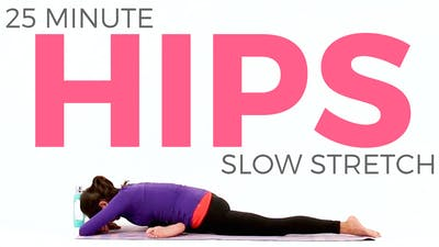 Instant Access to 20 minute Slow Stretch Hips by Sarah Beth Yoga, powered by Intelivideo
