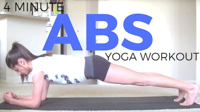 Instant Access to Yoga for Abs - Plank Practice by Sarah Beth Yoga, powered by Intelivideo