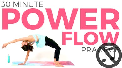 30 minute Power Flow Practice (NO MUSIC) by Sarah Beth Yoga