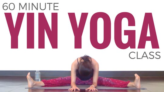 Instant Access to 60 minute Yin Yoga Class by Sarah Beth Yoga, powered by Intelivideo