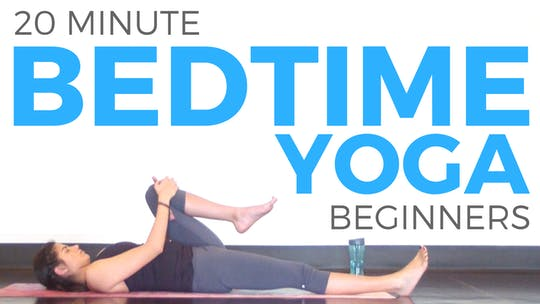 Instant Access to 20 minute Bedtime Yoga for Beginners by Sarah Beth Yoga, powered by Intelivideo