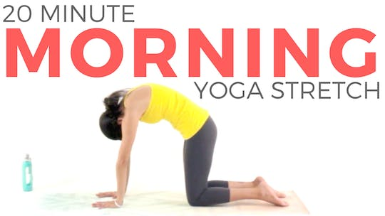 Instant Access to 20 minute Morning Yoga Stretch by Sarah Beth Yoga, powered by Intelivideo