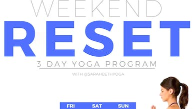 The Weekend Reset Calendar & Guides by Sarah Beth Yoga