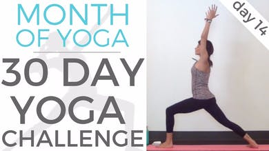 Day 14 - Mind Body Connection // #MonthOfYoga - 30 Day Yoga Challenge by Sarah Beth Yoga