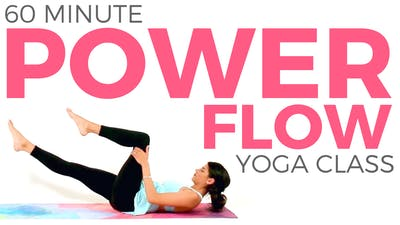 Instant Access to 60 minute Power Flow Yoga Class by Sarah Beth Yoga, powered by Intelivideo