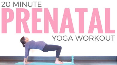 Prenatal Yoga Workout by Sarah Beth Yoga